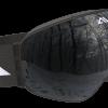 All black ski goggles