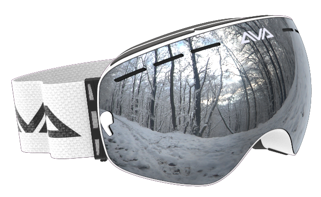 White Ice ski Goggles