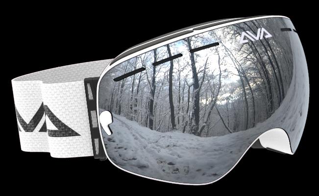 White Ice ski Goggles
