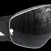 Black and White ski goggles